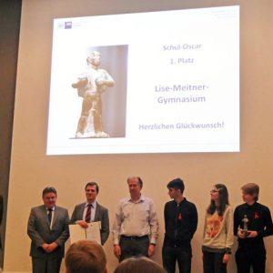 Schul-Oscar der Hamburger Wirtschaft an das LMG
