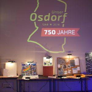 """Osdorf anders sehen"" – Ausstellung am LMG zur Festwoche  ""750 Jahre Osdorf"""