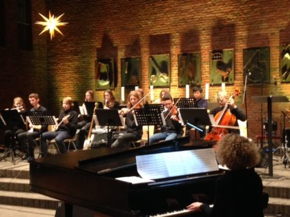 Weihnachtskonzert  des Lise-Meitner-Gymnasiums