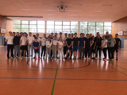 Schultrainung AOK-Handball4School