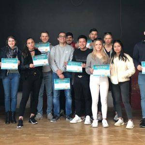 """""""Yes-Zertifikate"""" an 19 Oberstufenschülerinnen und -schüler überreicht"""