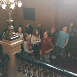 Besuch im Rathaus